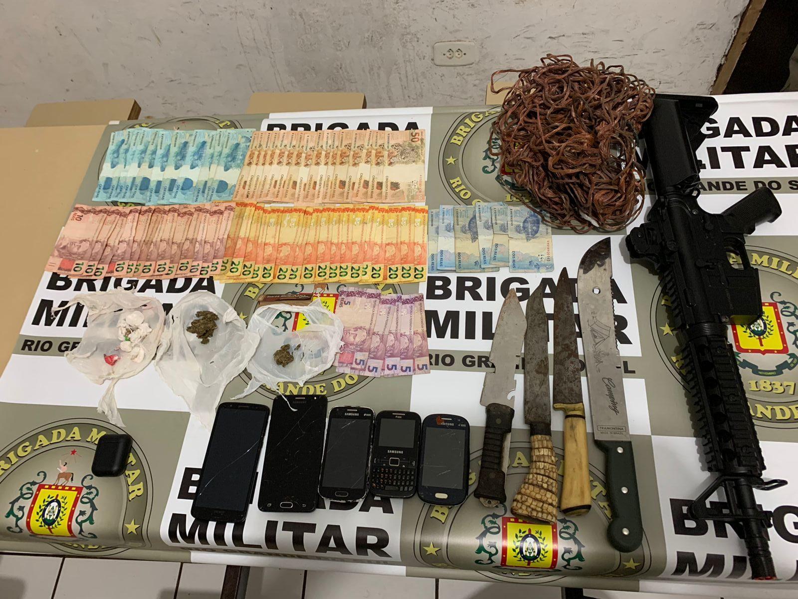 BM prende indivíduo por tráfico de drogas no Bairro Jardim de Não-Me-Toque