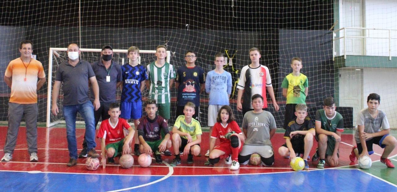 São retomados os treinos das Escolinhas Multiesportivas em Victor Graeff