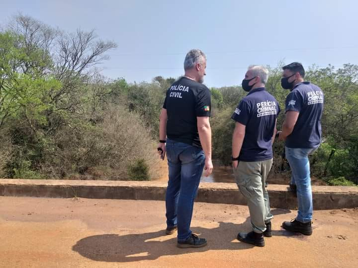 A Polícia Civil e Perícia Criminal investigam o desaparecimento de taxista de Carazinho