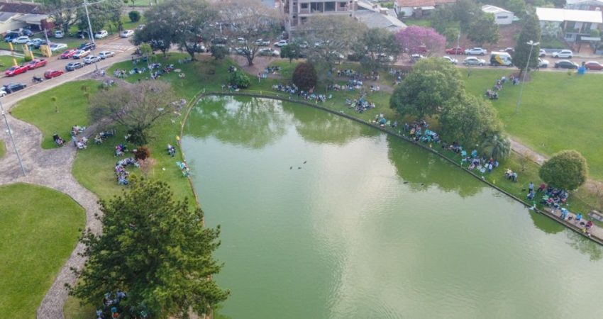 Pesca na Lagoa teve grande público