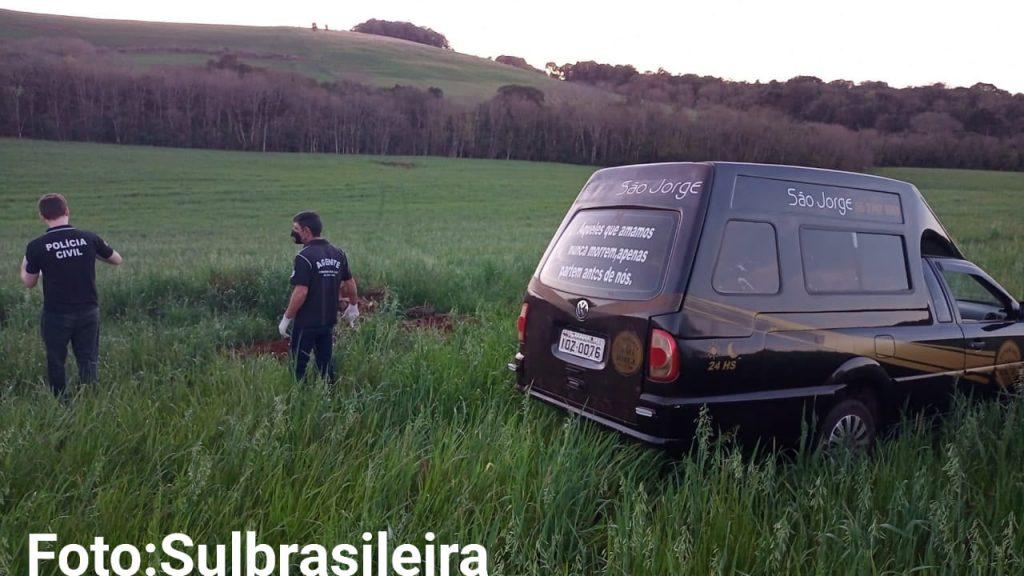 Agricultor encontra corpo enterrado na lavoura em Palmeira das Missões