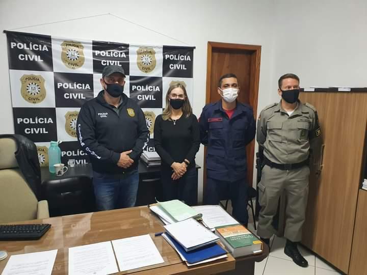 Presos autores do latrocínio contra taxista em Carazinho