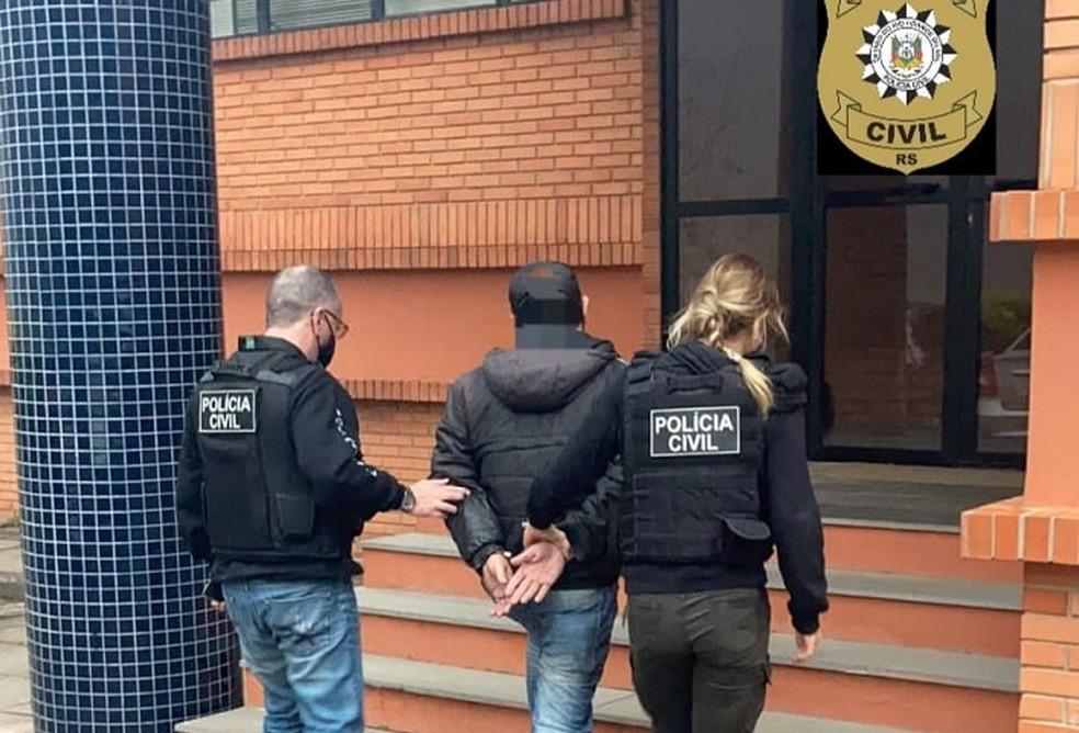 Homem é preso após manter em cárcere privado e estuprar adolescente de 15 anos em Porto Alegre